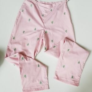 Brooks brothers pink pants turtles 4 lined